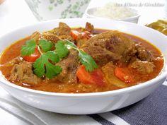 Aux délices de Géraldine Agneau au curry