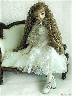 Angela (Volks SD Bianka) by MiriamBJDolls, via Flickr