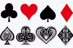 Harley Quinn Tattoo, Temporary Tattoo Halloween, Small, Hearts, Aces, Spades, Diamonds