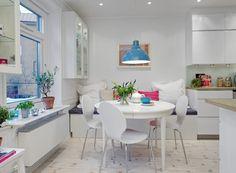 Bucatarii albe Designist 11 Să vorbim despre bucătării! Ce ar fi să fie albe, cu aer suedez?