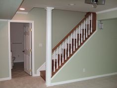 Basement Stairs Inspiration... This Is How We Are Redoing The Entrance To  Basement