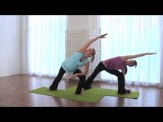 Yoga for the second trimester - YouTube
