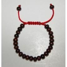 Easy Instructions for Making an Adjustable Bracelet Knot: Example of a Mala Bracelet