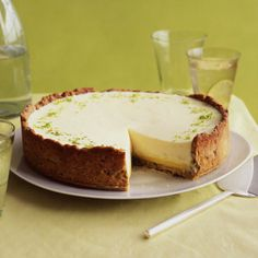 Lime-Pistachio Tart in honor of St. Patricks day...and love lime!