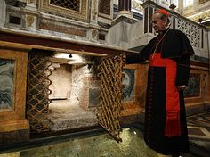 St. Paul's Tomb Unearthed in Rome Basilica of St. Paul's Outside-the -Walls