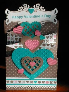 TLC362 Valentine Cascade by Kathy LeDonne - Cards and Paper Crafts at Splitcoaststampers
