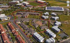 Housing 21. St James Gateshead. Marigold Court VSH Extra Care and adjacent bungalow scheme.