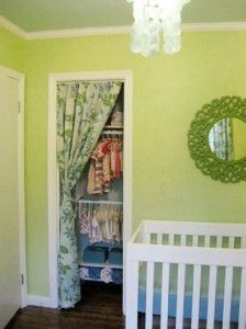 trendy ideas for kids room closet doors small spaces Closet Curtains, Kids Curtains, Closet Bedroom, Door Curtains, Replacing Closet Doors, Replacing Interior Doors, Small Closet Space, Tiny Closet, Small Spaces