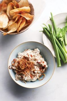 This version of French onion dip takes the starter to a different level, with the flavor of caramelized onions mingling with the equally delectable taste of crisp bacon.