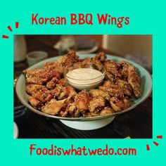 Food from around the world to your table! Yummy Korean Bbq, Bbq Wings, Parties, Breakfast, Blog, Check, Recipes, Fiestas, Morning Coffee