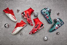 wholesale dealer 2aec9 062f1 Nike Basketball 2014 Christmas Collection  LeBron James, Kevin Durant, and Kobe  Bryant will once again don festive kicks this holiday season,