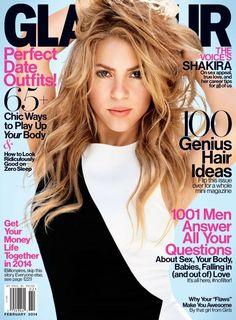 Shakira – Glamour Magazine (February 2014)