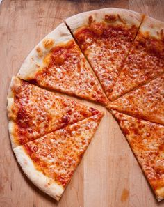 I want some New York Style pizza! Yes, you can make this at home!! Let the refrigerator do the work (that's the secret to a good crust - did you know?)