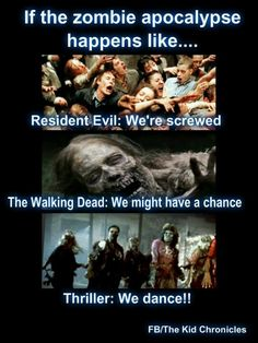 Resident Evil seems to be mutants more than zombies. Sorta like Rage, but worse? (My family loves zombies)