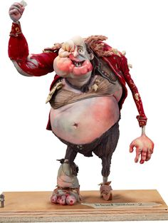 The Boxtrolls Deformed Archibald Snatcher Original Animation Puppet | Lot #94231 | Heritage Auctions