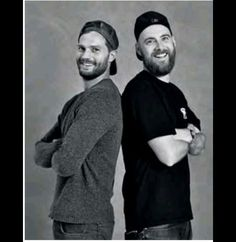 Jamie and photographer Neil Bedford for Icon El País.