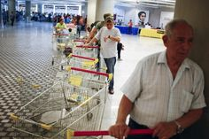 """President Nicolas Maduro is introducing a controversial shopping card intended to combat Venezuela's food shortages but decried by critics as a Cuban-style policy illustrating the failure of his socialist policies. Maduro, the 51-year-old successor to Hugo Chavez, trumpets the new """"Secure Food Supply"""" card, which will set limits on purchases, as a way to stop unscrupulous shoppers stockin..."""