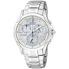 Citizen Women's Eco-Drive Stainless Steel Silver Dial Watch - Overstock™ Shopping - Big Discounts on Citizen Citizen Women's Watches