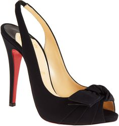 CHRITIAN LOUBOUTIN Lady Bow - Lyst