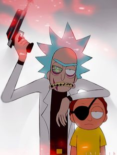 Evil Rick and Evil Morty