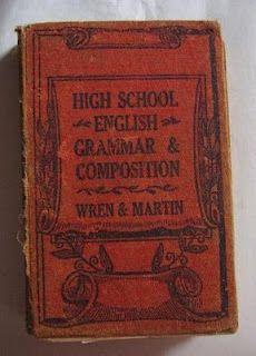 Wren and martin english grammar book