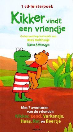 Kikker vindt een vriendje - Max Velthuijs (luisterboek)