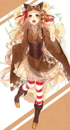 「☆」/「淳子」のイラスト [pixiv] anime corset