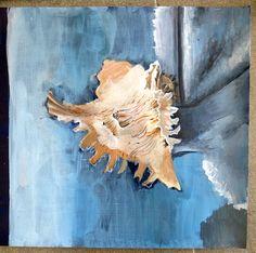 Beautiful Year 10 painting in progress. www.nickycases.com
