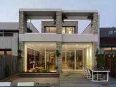 Dieses Haus in Amsterdam vereint moderne Architektur, Stadtnähe und einen fantastsichen Blick ins Grüne. Ein echtes Traumhaus!
