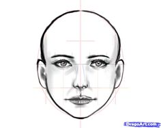 How to Draw a Human Face, Step by Step, Faces, People, FREE Online Drawing Tutorial, Added by estheryu1981, December 5, 2010, 5:29:11 am Realistic Drawings, Realistic Cartoons, My Drawings, Pencil Drawings, Simple Drawings, Drawing People, Drawing Women, Drawing Lessons, Drawing Techniques