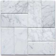 Traditional Wall And Floor Tile - carrara marble subway tile