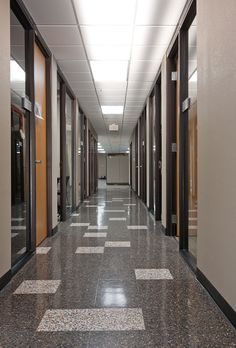 Phoenix Federal Building Terrazzo Flooring #Fritztile #terrazzo #flooring #floor
