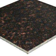 Tan Brown Granite Tile - 12 x 12 - 923103615 Quartz Bathroom Countertops, Granite Tile, Granite Countertops, Tan Brown Granite, Diy Carpet Cleaner, Cheap Carpet Runners, Carpet Colors, Floor Decor, Tile Floor