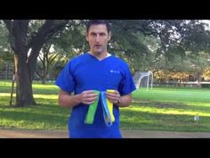 The use of resistance bands can build strength while rehabilitating an injury.