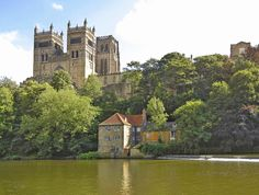 Durham Cathedral, England (by St, George) Durham Cathedral, England Uk, Durham England, Castle Ruins, Exotic Places, Places Of Interest, World Traveler, Far Away, Great Britain