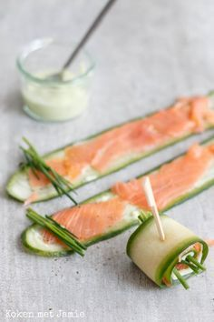 Low Calorie Snacks, Healthy Snacks, Healthy Recipes, Finger Food Appetizers, Appetizer Recipes, Tapas Dinner, High Tea Food, Brunch, Lean Meals