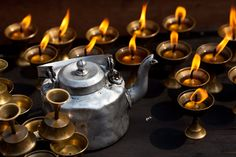 Coroner warns of dangers of using candle-lit shrines Nepal, Kettle, Coffee Maker, Kitchen Appliances, Mustang, Candles, Hindu Temple, Monuments, Coffee Maker Machine