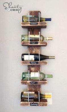 DIY {$15} Wine Rack!