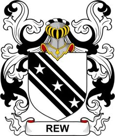 Rew Family Crest and Coat of Arms