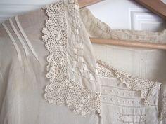1910s Edwardian Off-White Cotton Voile Blouse - RomyVintage, Etsy