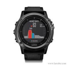 Reloj Garmin Fénix 3 Zafiro HR, un reloj deportivo e inteligente con medición de frecuencia cardiaca y autonomía hasta cuarenta horas.  #relojesgarmin #relojesdeportivos #relojesinteligentes #moda #mujer #hombre #deporte #actividades