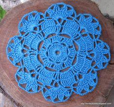 Passatempos da Dorinha / Dorinha's pastimes: crochê/crochetottimo schema per copribarattoli
