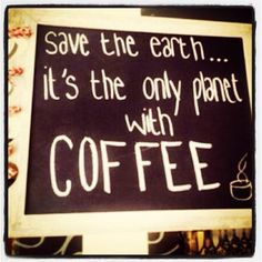 Save the earth.....