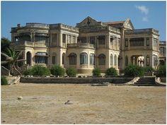 (palacio) Porbandar, India.- ciudad donde nacio (Mahatma) GANDHI.-