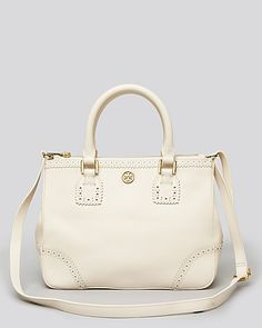 Tory Burch Satchel - Robinson Small Double Zip | Bloomingdale's