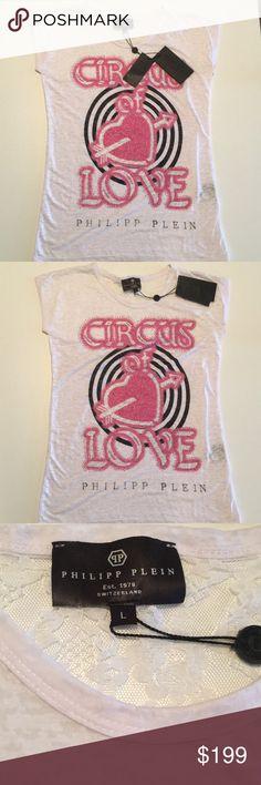 ♠️⚫️🇨🇭 Philipp Plein 🇨🇭last chance fancy shirt by Philipp Plein Philipp Plein Tops