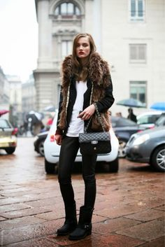 Winter Fashion Outfits 2020 – How can I look stylish in winter clothes? Estilo Fashion, Look Fashion, Fashion Models, Womens Fashion, Net Fashion, Sporty Fashion, Classic Fashion, Fashion Boots, Street Fashion