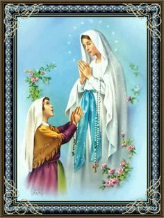Our lady of Lourdes Holy Mary-Adriana creation