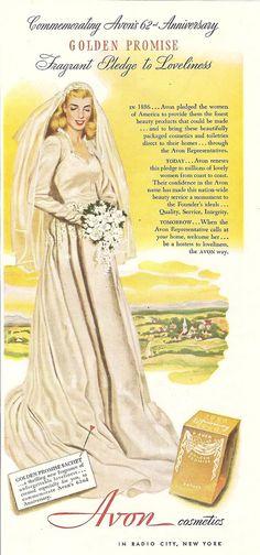 1948 avon cosmetics magazine ad by CapricornOneVintage,