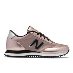Best Fall Outfits : Picture Description Rose Gold New Balance Sneakers  https://looks